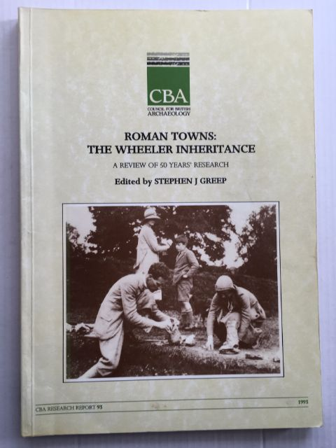 Image for Roman Towns :The Wheeler Inheritance. A Review of 50 Years' Research