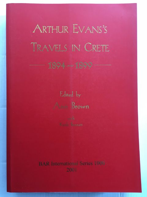 Image for Arthur Evan's Travels in Crete 1894-1899 :