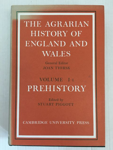 Image for The Agrarian History of England and Wales :Volume I: I Prehistory