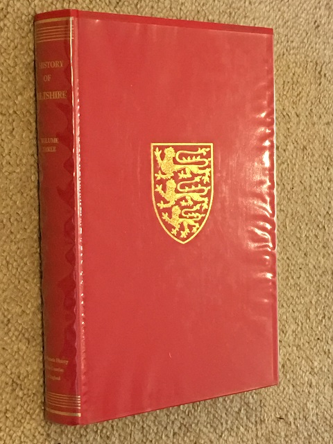 Image for A History of Wiltshire: Volume III :