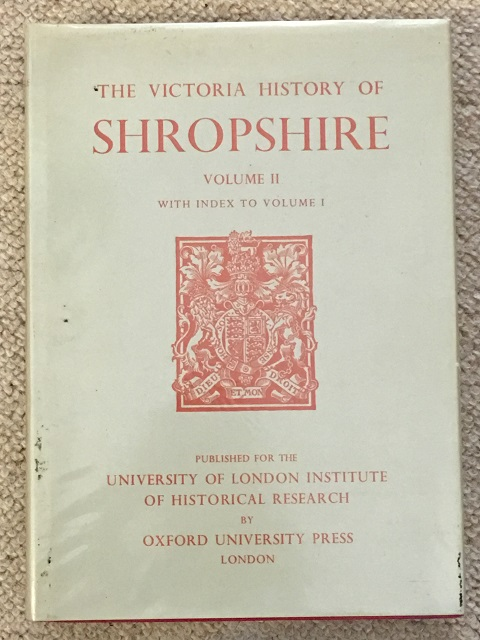 Image for A History of Shropshire: Volume II :