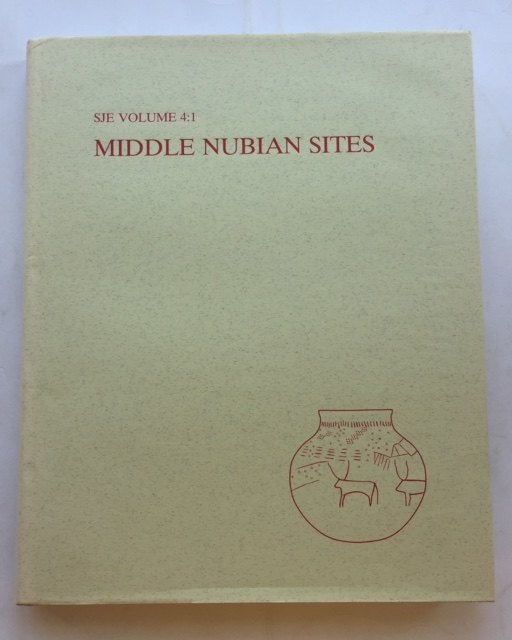 Image for Middle Nubian Sites :Vol. 4:1 - Text,