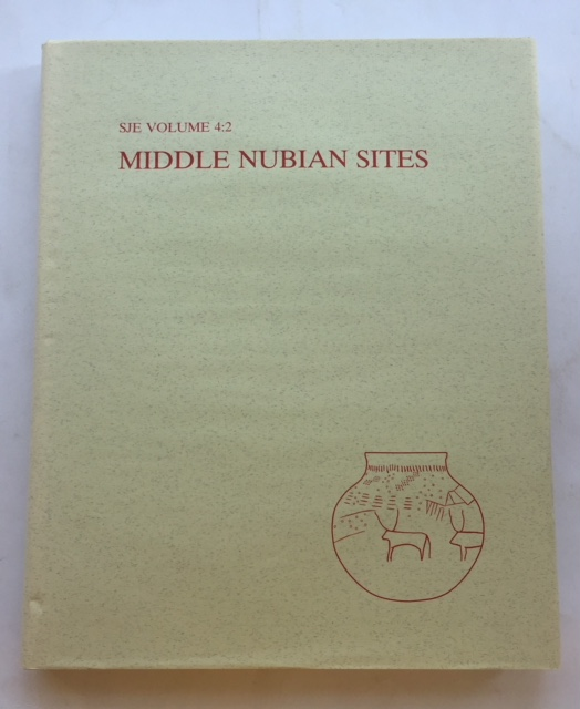 Image for Middle Nubian Sites :Vol. 4:2 - Lists and Plates