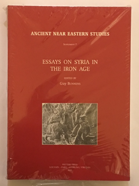 Image for Essays on Syria in the Iron Age (Ancient Near Eastern Studies Supplement 7) :