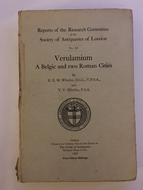 Verulamium: A Belgic and Two Roman Cities :(Reports of the Research Committee of the Society of Antiquaries of London No. XI)
