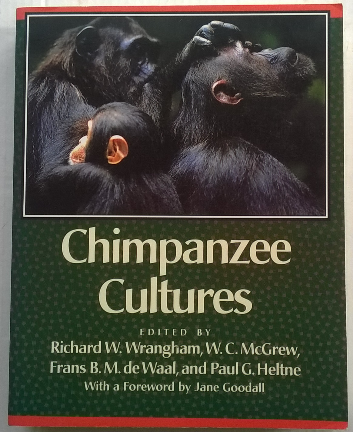 Image for Chimpanzee Cultures :