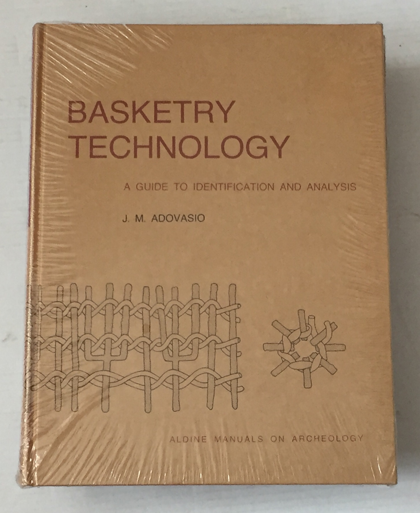 Image for Basketry Technology a guide to identification and analysis :