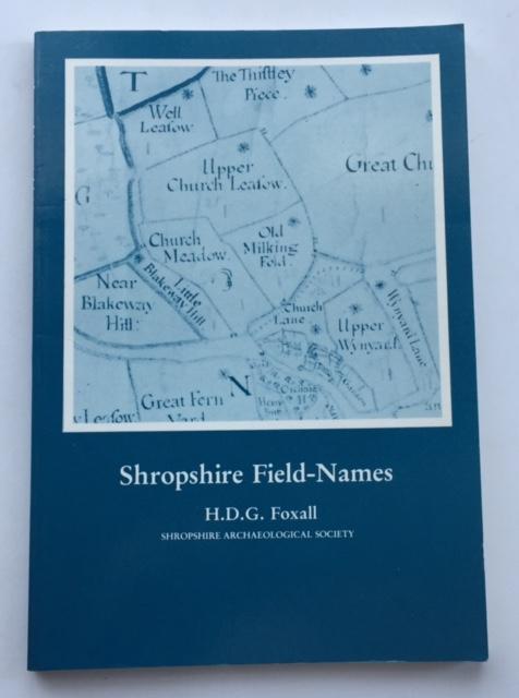 Shropshire Field-Names :