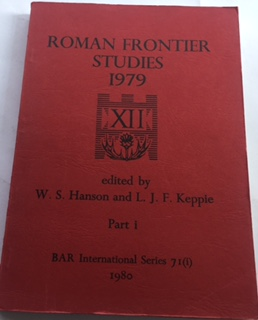 Image for Roman Frontier Studies 1979 :Papers presented to the 12th International Congress of Roman Frontier Studies, Part I