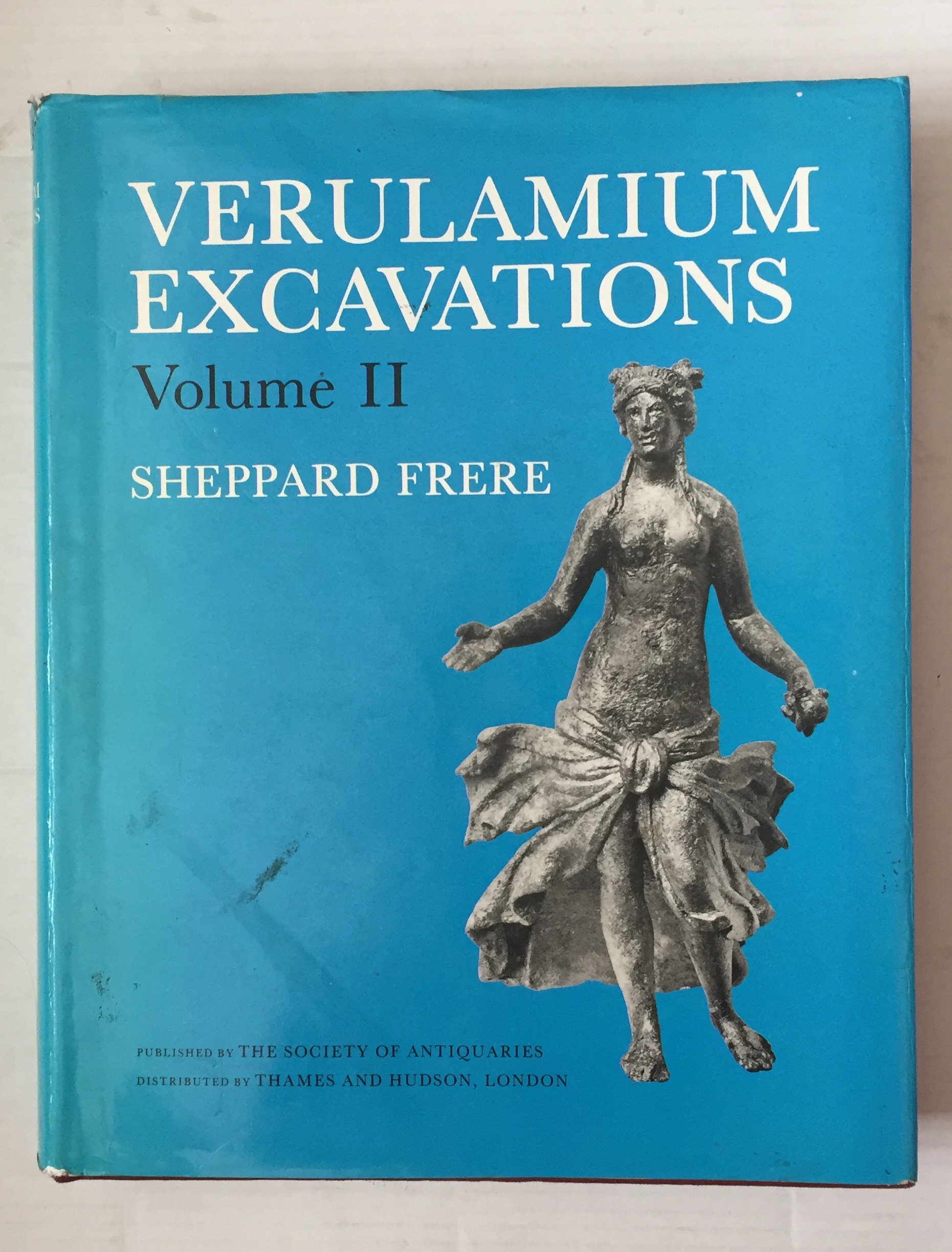 Image for Verulamium excavations Volume II (Reports of the Research Committee of the Society of Antiquaries of London) :
