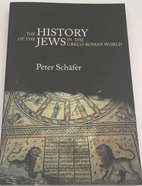 Image for The History of the jews in the Greco-Roman World :