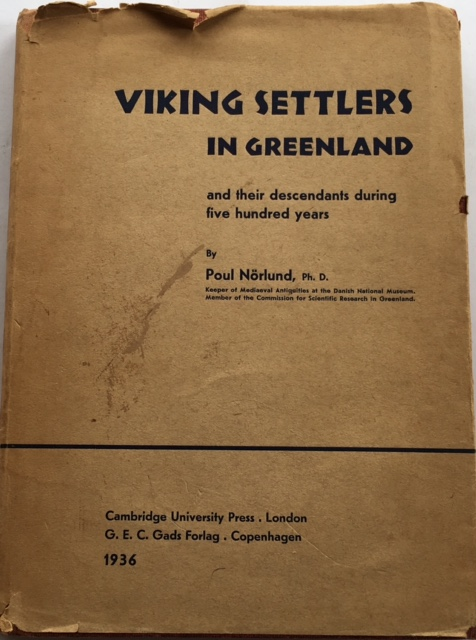 Image for Viking Settlers in Greenland :and their descendants during five hundred years