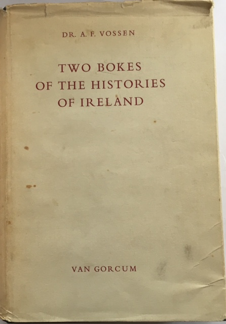 Image for Two Bokes of the Histories of Ireland :