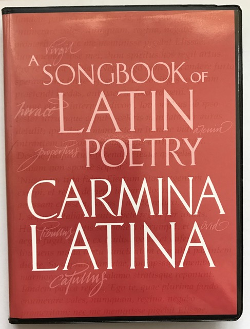 Image for Carmina Latina :A Songbook of Latin Poetry