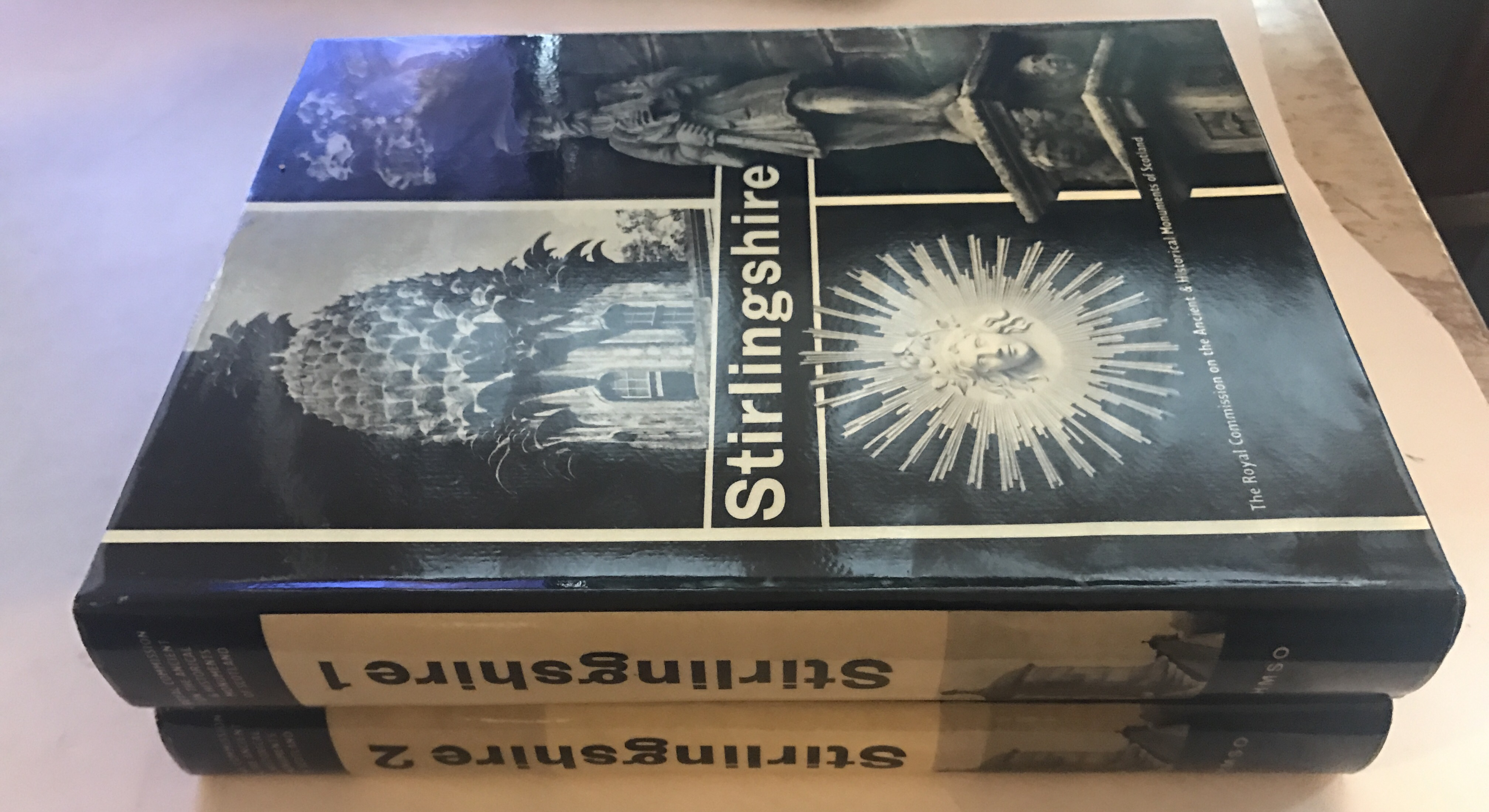 Image for STIRLINGSHIRE: An Inventory of the Ancient Monuments, Vol. I & II :