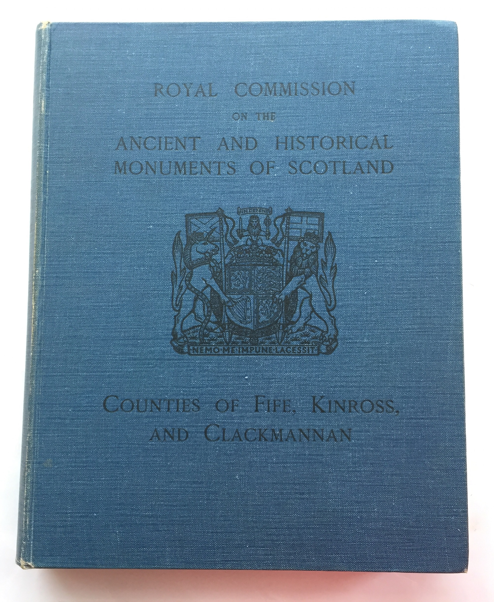 Image for Eleveth Report with Inventory of Monuments and Constructions in the Counties of Fife, Kinros and Clackmannan :