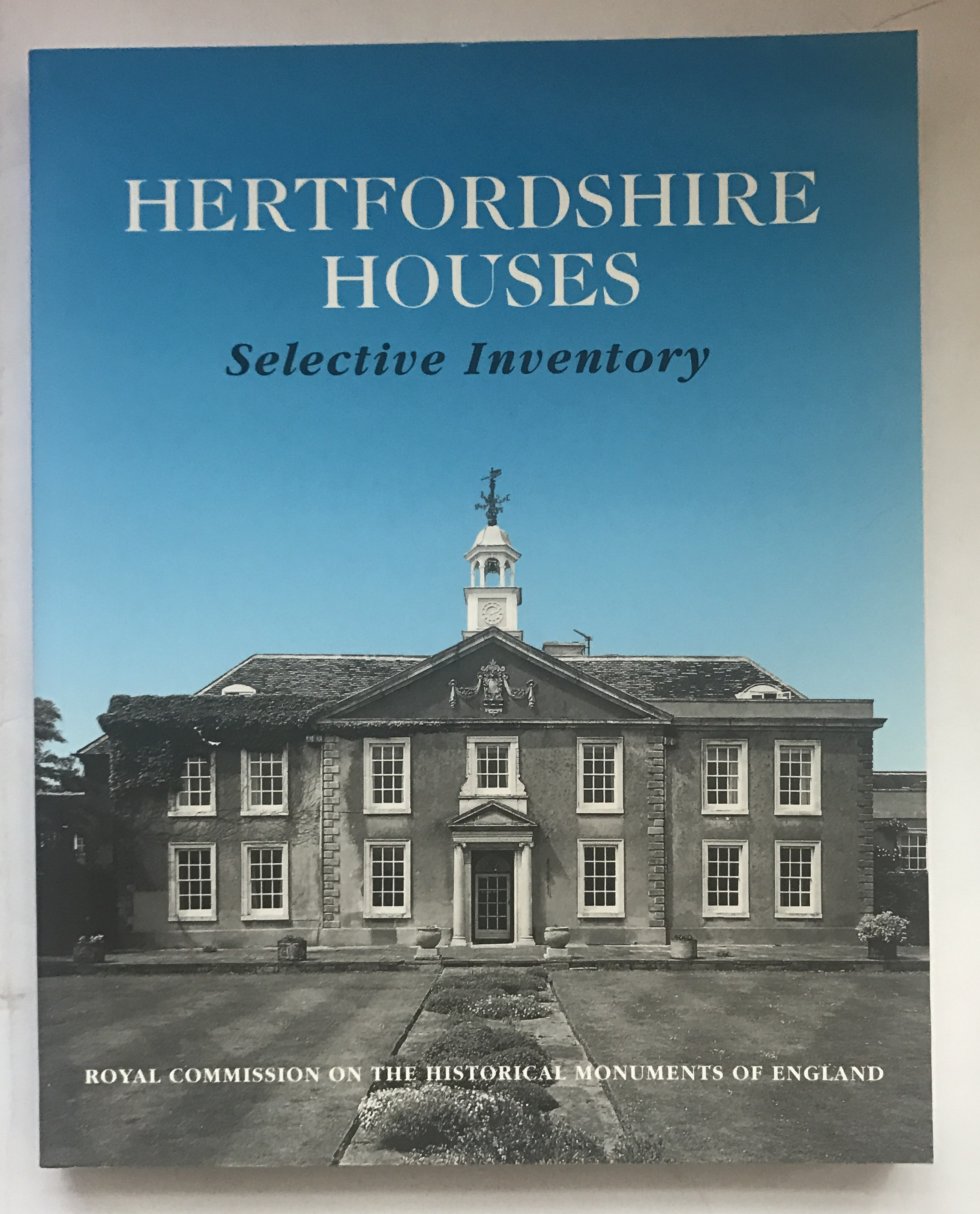 Image for Hertfordshire Houses :Selective Inventory
