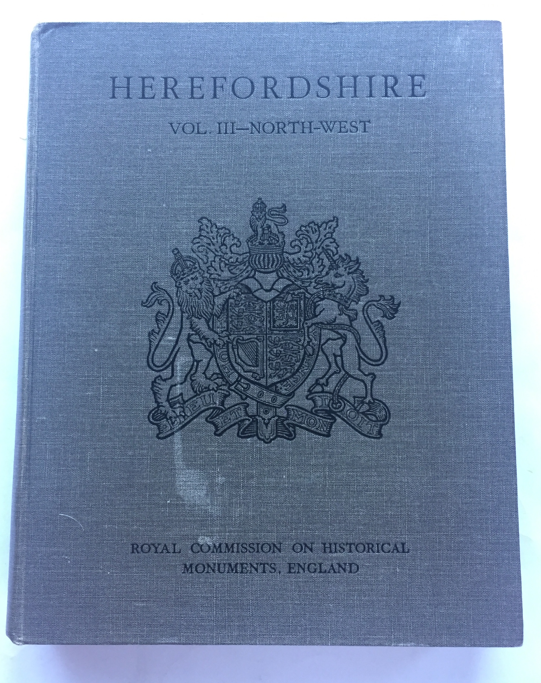 Image for HEREFORDSHIRE, Vol 3, North-West :