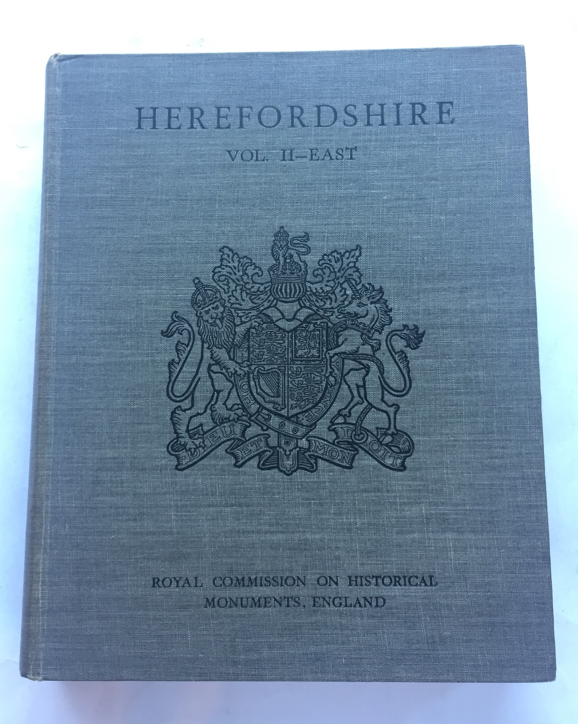 Image for HEREFORDSHIRE, Vol 2, East :