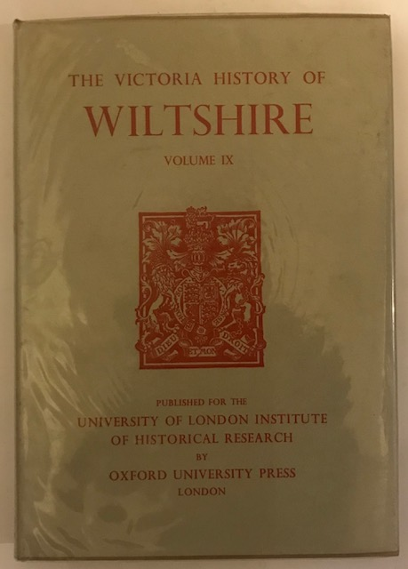 Image for The Victoria History of Wiltshire, Vol IX :