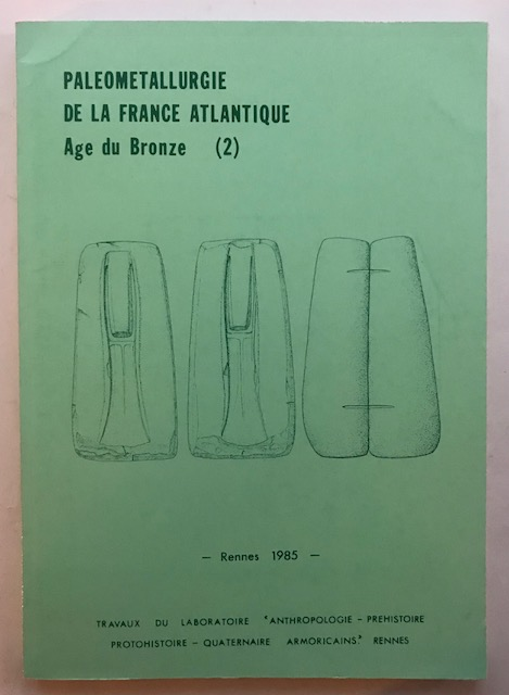 Image for Paleometallurgie De La France Atlantique Age du Bronze (2) :