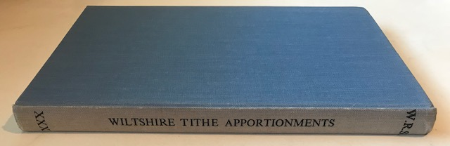 Image for Abstracts of Wiltshire Tithe Apportionments :