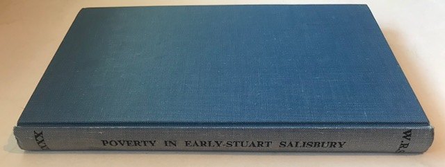 Image for Poverty in Early Stuart Salisbury :