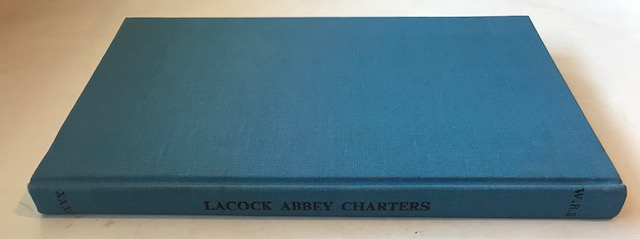 Image for Lacock Abbey Charters :