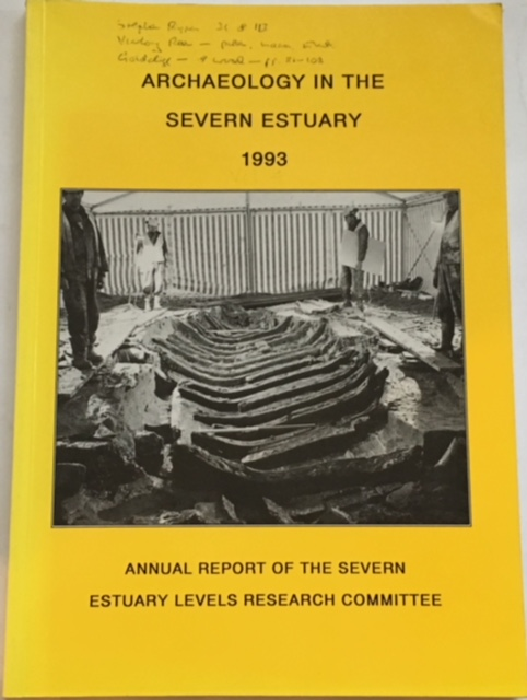 Image for Archaeology in the Severn Estuary 1993 :