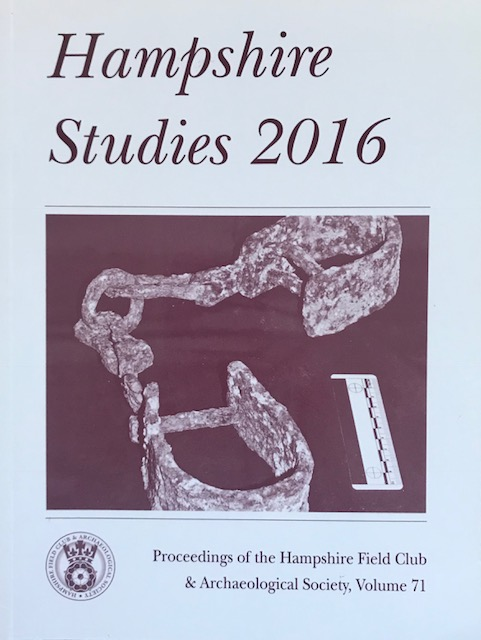 Image for Hampshire Studies 2016 :Proceedings of the Hampshire Field Club & Archaeological Society, Vol 71