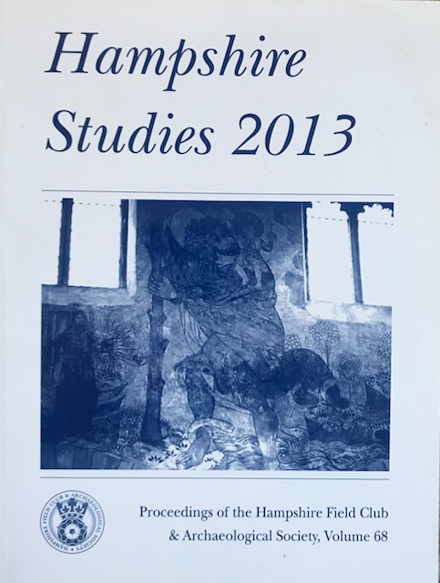Image for Hampshire Studies 2013 :Proceedings of the Hampshire Field Club & Archaeological Society, Vol 68