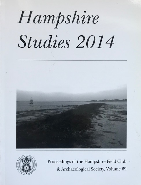 Image for Hampshire Studies 2014 :Proceedings of the Hampshire Field Club & Archaeological Society, Vol 69