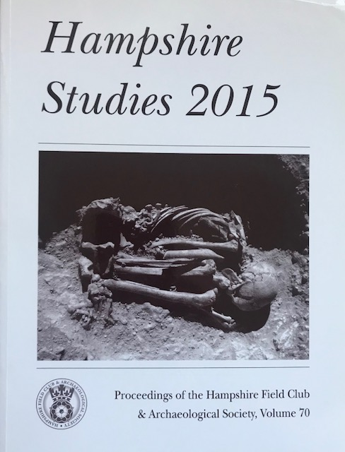 Image for Hampshire Studies 2015 :Proceedings of the Hampshire Field Club & Archaeological Society, Vol 70