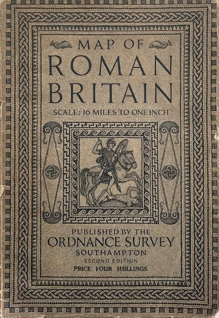 Image for Map of Roman Britain :Scale: 16 miles to one inch