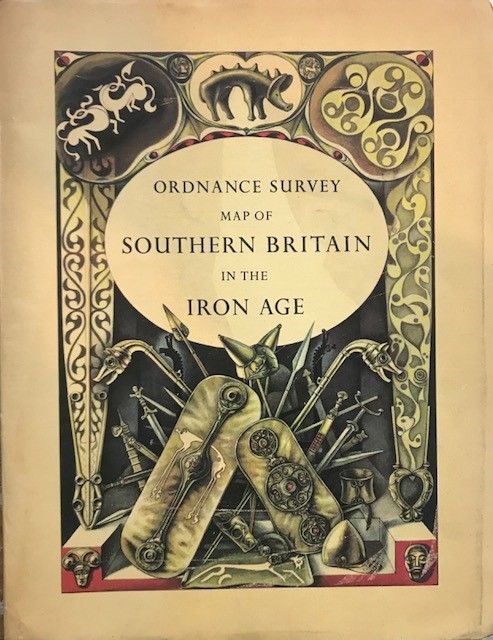 Image for Map of Southern Britain in the Iron Age :
