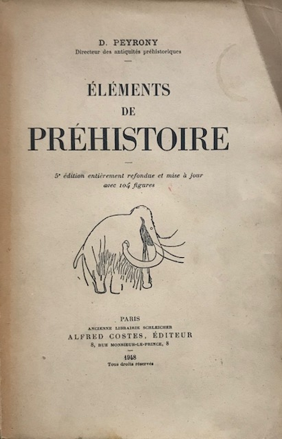 Image for Elements de Prehistoire :