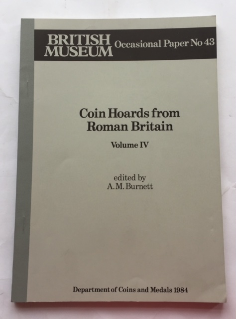 Image for Coin Hoards from Roman Britain, Vol. IV :Occasional Paper No. 43