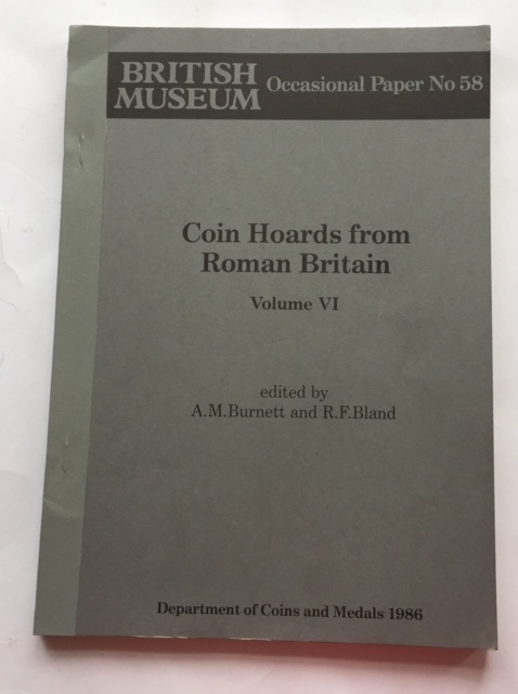 Image for Coin Hoards from Roman Britain, Vol. VI :Occasional Paper No. 58