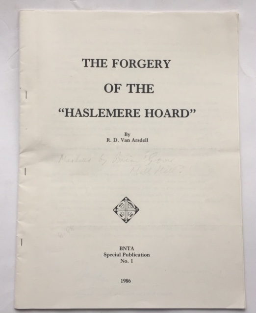 "Image for The Forgery of The ""Haslemere Hoard"" :"