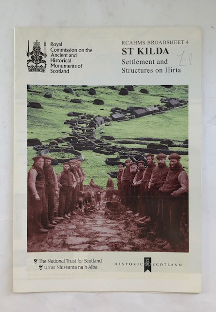 Image for St Kilda :Settlement and structures on Hirta (RCAHMS Broadsheet 4)