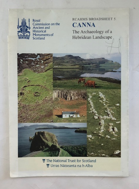 Image for Canna :The Archaeology of a Hebridean Landscape (RCAHMS Broadsheet 5)