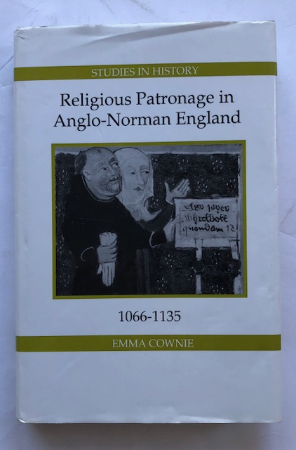 RELIGIOUS PATRONAGE IN ANGLO-NORMAN ENGLAND :