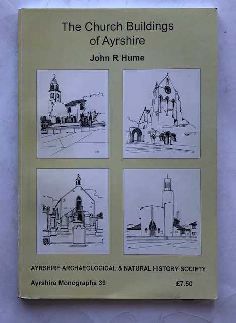 Image for The Church Buildings of Ayrshire :