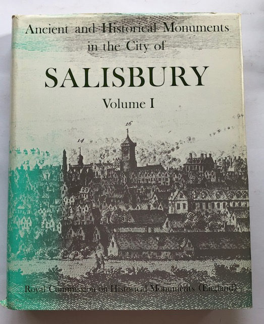 Image for Ancient and Historical Monuments in the City of Salisbury, Volume I :