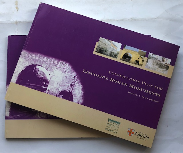 Image for Conservation Plan for Lincolnis Roman Monuments :Volume 1: Main Report & Volume 2: Gazetteer