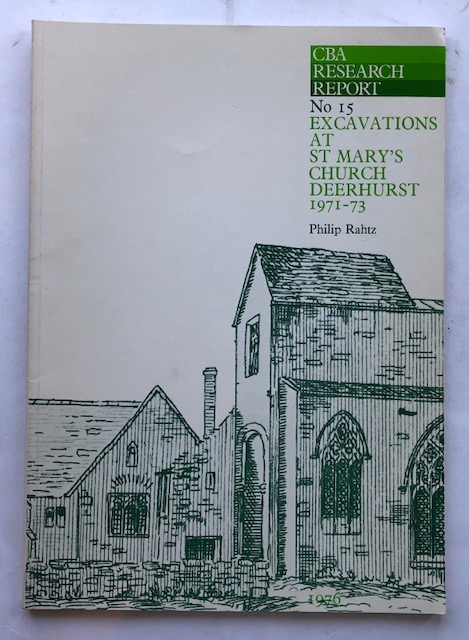 Image for Excavations at St Maryis Church, Deerhurst, 1971-73 :