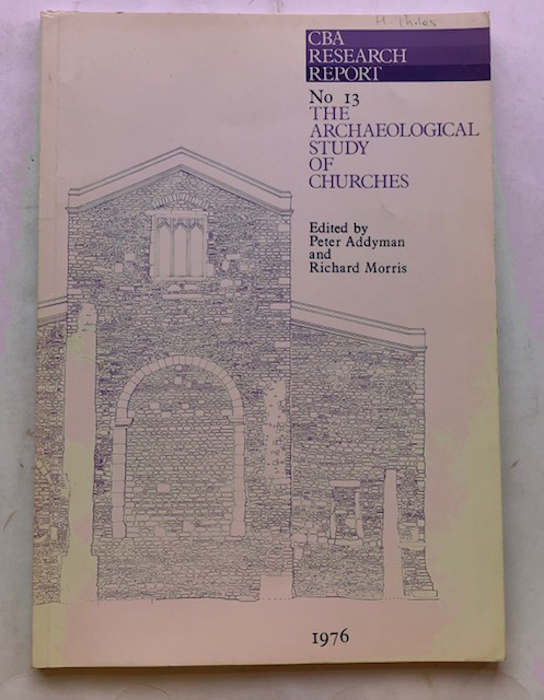 Image for The Archaeological Study or Churches :