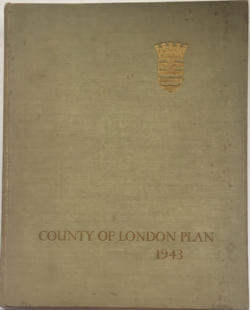 Image for County of London Plan 1943 :