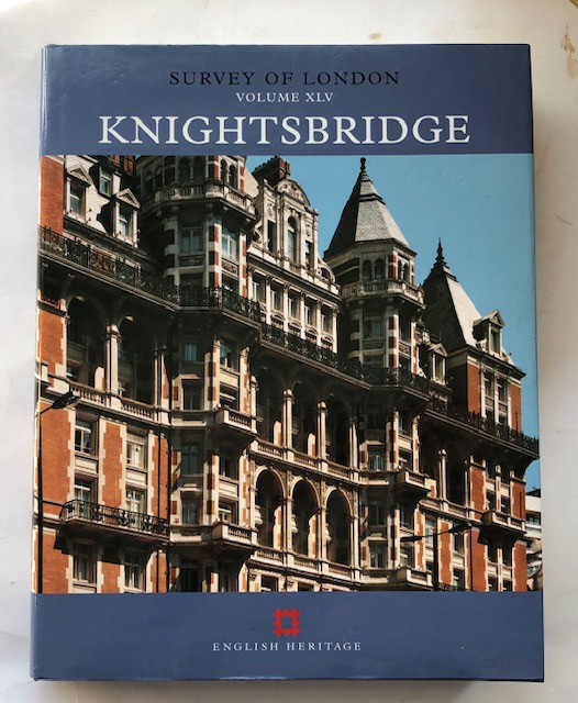 Image for Survey of London, Volume XLV :Knightsbridge