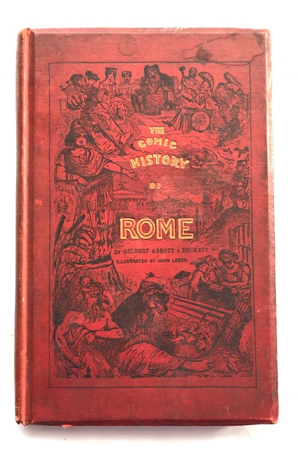 Image for The Comic History of Rome :bound with The Comic Blackstone